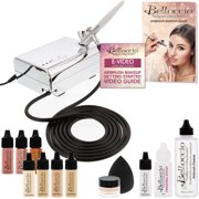 Belloccio Professional Fair Shade Shade Airbrush Cosmetic System Holiday Kit