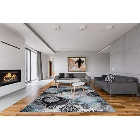 GAD Premium Indoor Contemporary Abstract Area Rug (2\'2\