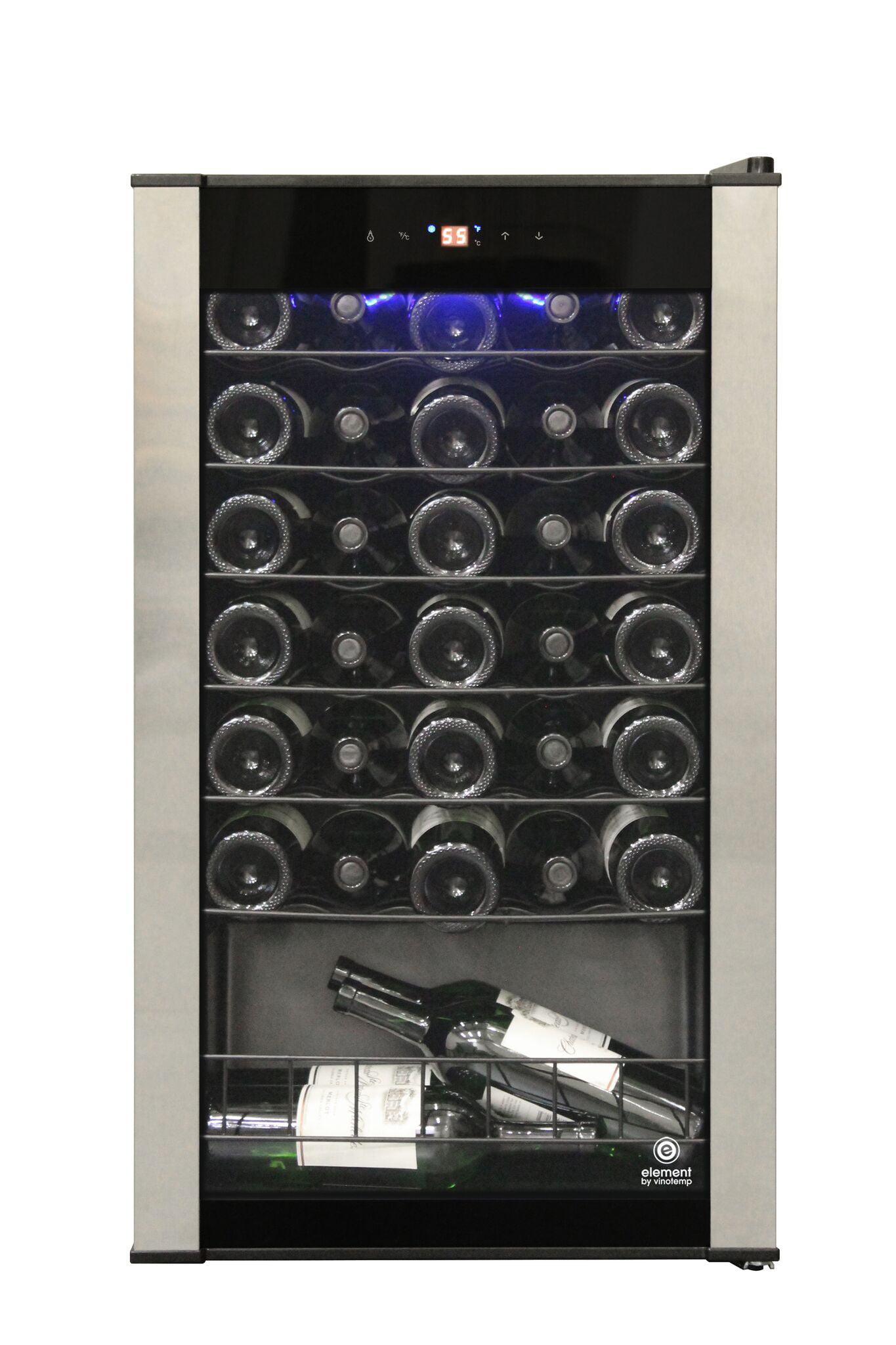 Vinotemp EL-35VCMS 34 Bottle Wine Cellar by Vinotemp International Corp