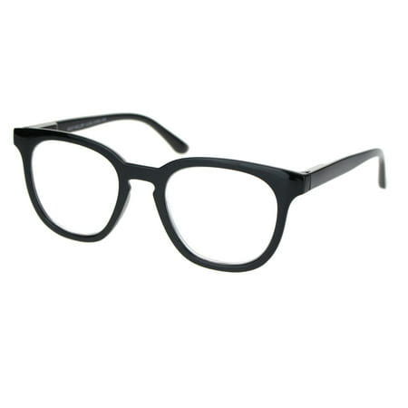 Retro Hipster Plastic Horned Rim Mod Fashion Reading Glasses Black (Are Hipster Glasses Still Cool)
