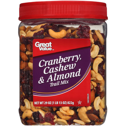 Great Value Cashew Cranberry & Almond Trail Mix, 30 oz