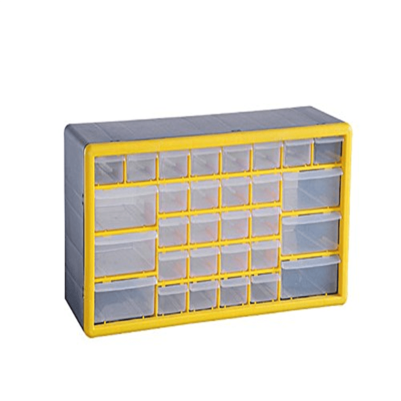 G_Forge HL3045-E Plastic Parts Organizer & Storage Box with 30 Transparent Drawers by GFORGE