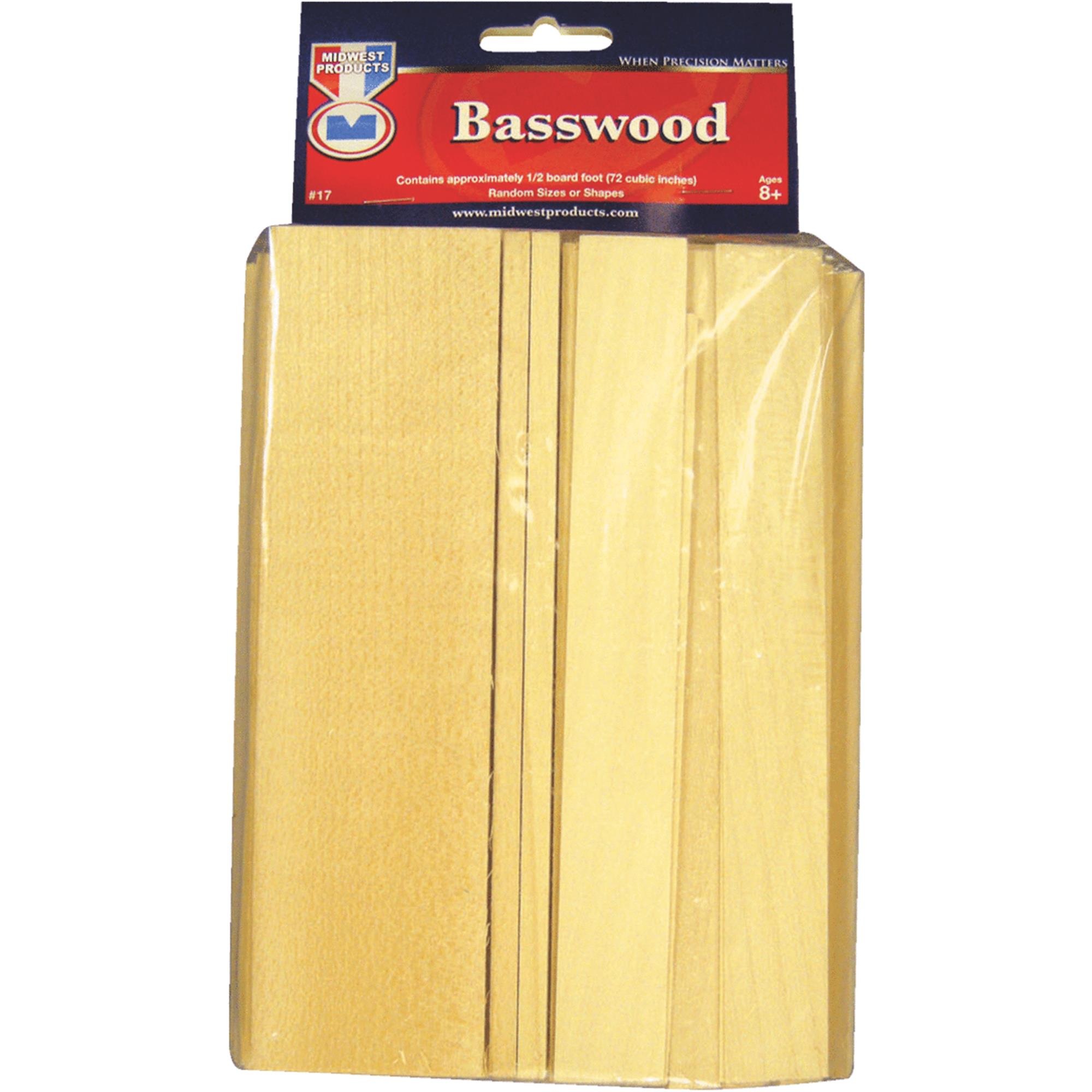 Wood Assortment Economy Bag, Basswood