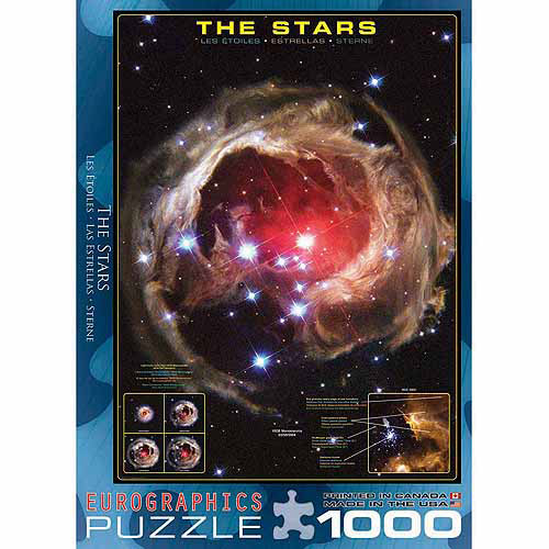 EuroGraphics The Stars 1000-Piece Puzzle