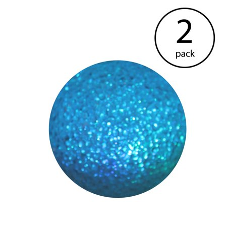 Good Times Color Changing LED Waterproof Floating Glitter Globe Light (2 Pack)