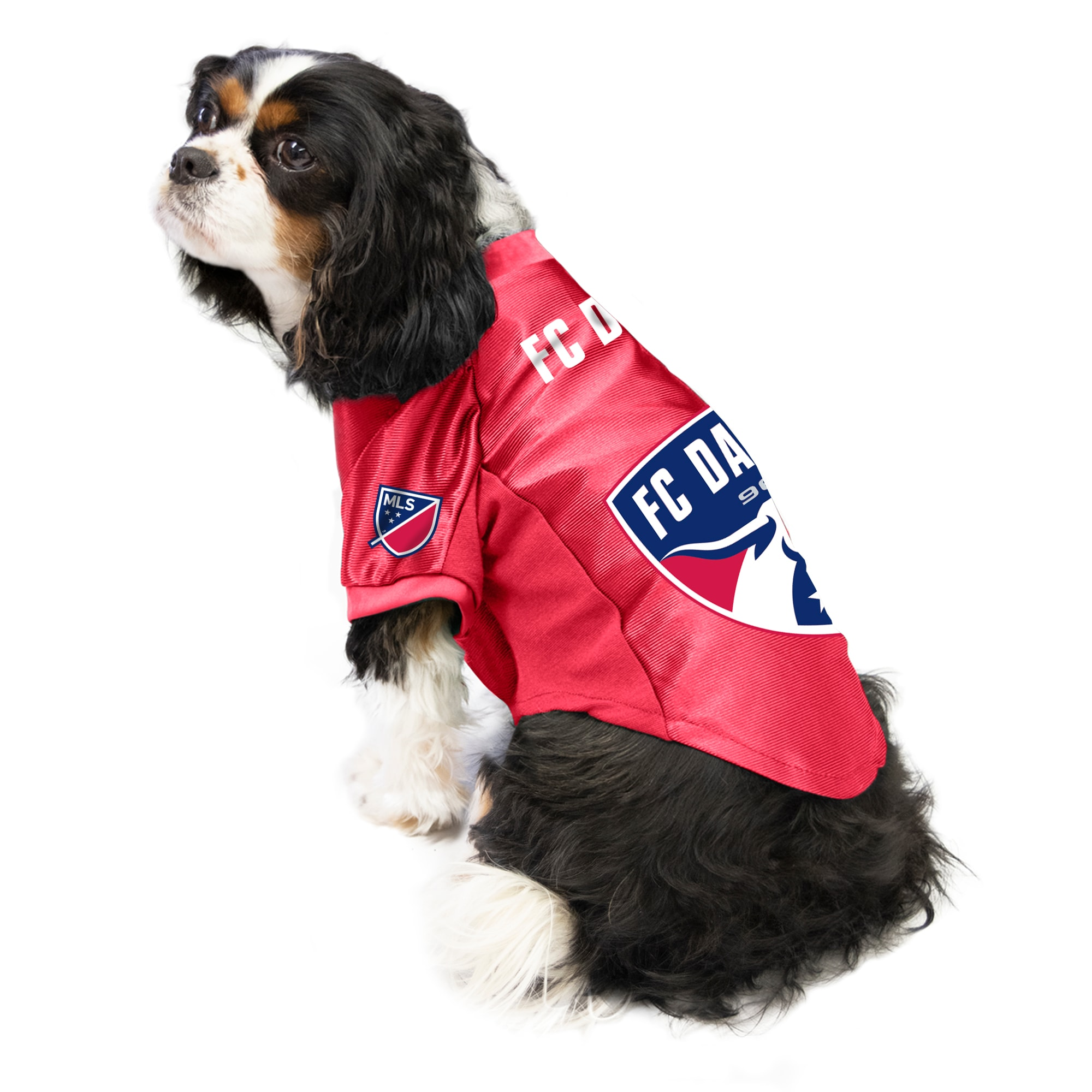 White Littlearth MLS Chicago Fire Unisex Big Dog Jersey One Size