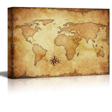 Canvas prints wall art abstract old grunge world map modern wall canvas prints wall art abstract old grunge world map modern wall decorhome decoration stretched gallery canvas wrap giclee print ready to hang 12 gumiabroncs Choice Image