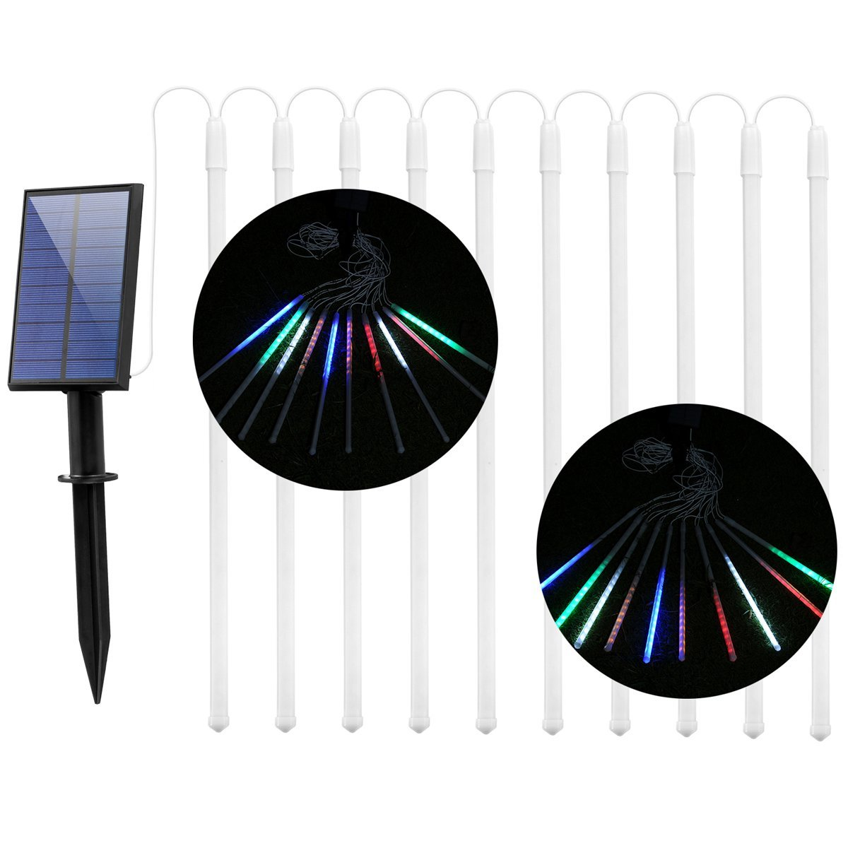 Solar String Lights Outdoor, iThird LED Solar Powered Sho...