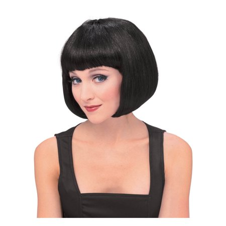 Black Super Model Wig - Super Dollfie Wig