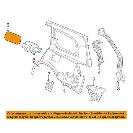 Dodge CHRYSLER OEM 14-15 Durango Fuel Door-Gas Cap Hatch