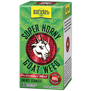 Super Horny Goat Weed by Natural Balance - 60  Capsules