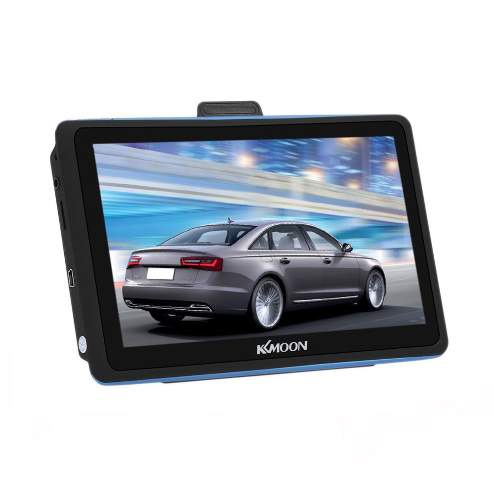 """KKmoon 7"""" HD Touch Screen Car GPS Navigator 128MB 8GB FM Ebook MP3 Video Player Car Entertainment System with Free Map"""