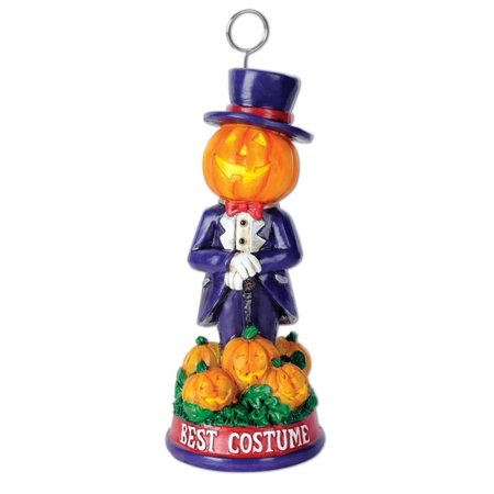 Pack of 6 Halloween Mr. Pumpkin Best Costume Trophy Party Decorations 6