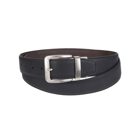 Canyon Ridge by DXL Men's Casual Reversible Belt with Stretch Technology (Reversible Deluxe Belt)