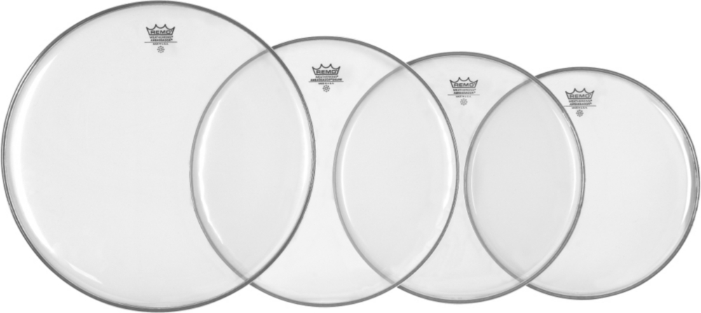 Drum Head Resonant Pack 12\ by Remo