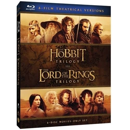Middle-Earth Theatrical Collection: The Hobbit Trilogy   The Lord Of The Rings Trilogy (Blu-ray + Digital HD... by New Line