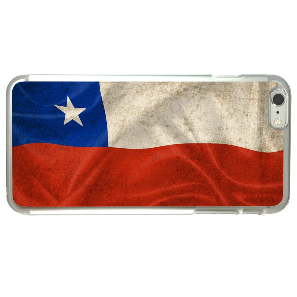 Chile Chilean Flag Apple iPhone 6 Plus   6S Plus (5.5 inch) Phone Case by Arthwick Store