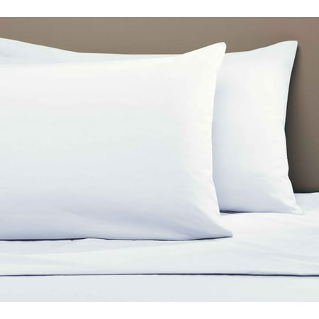 Mainstays 200 Thread Count Standard Pillowcase - Arctic White