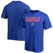 Kansas Jayhawks Fanatics Branded Youth True Sport Basketball T-Shirt - Royal