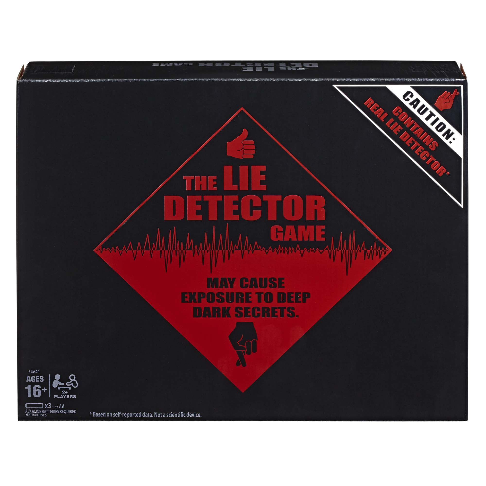 The Lie Detector Game Adult Party Game, Ages 16 and Up