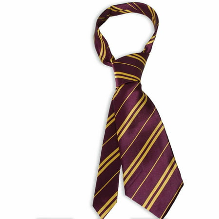 Harry Potter Gryffindor Economy Tie Halloween Costume Accessory - Biker Halloween Costume Accessories