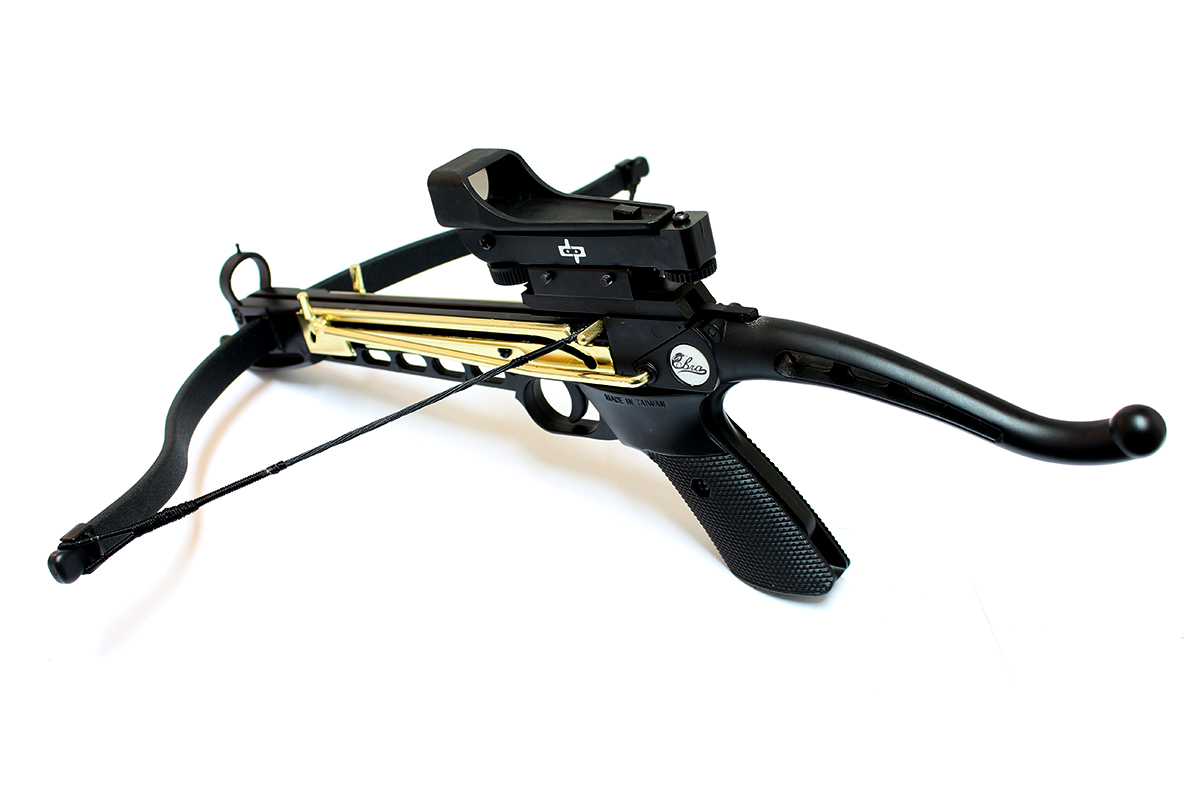 Click here to buy Man Kung 80lbs Self Cocking Cobra Crossbow 15 ArrowsMetal Crossbow 165 + FPS by Man Kung.