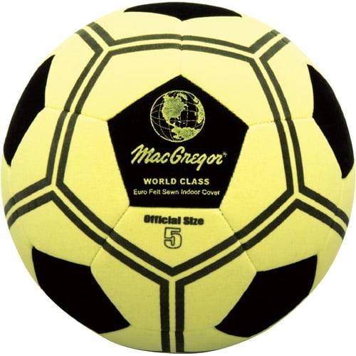 MacGregor Eurofelt Indoor Soccer Ball, Size 5 by Generic