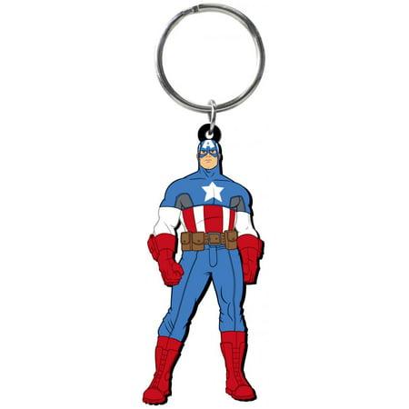 Captain America Laser Cut Rubber