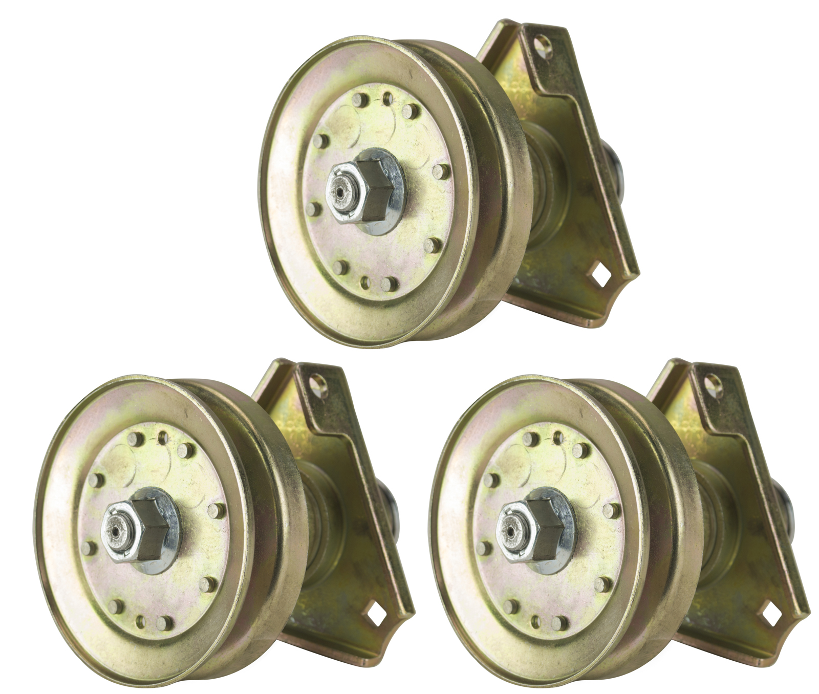 Three (3) Pack Erie Tools Lawn Mower Spindle Assembly Fits John Deere AM126226 LT 160, LT 166, LT 180, Sabre Lawn... by Erie Tools