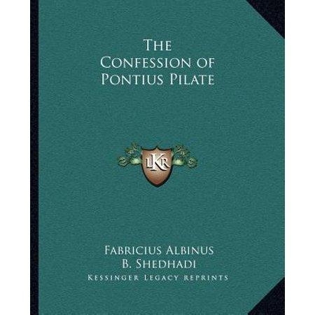 The Confession of Pontius Pilate - Pontius Pilate Costume