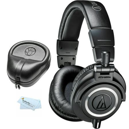 Audio Technica ATH-M50x Professional Monitor Headphones Studio Mixing Tracking DJ Monitoring Production On Ear