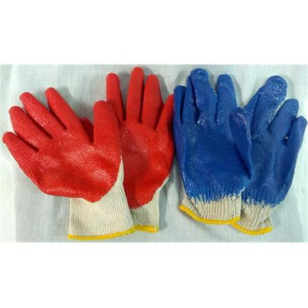 Bulk Buys Gardening- Working Rubber Glove - Case of 96