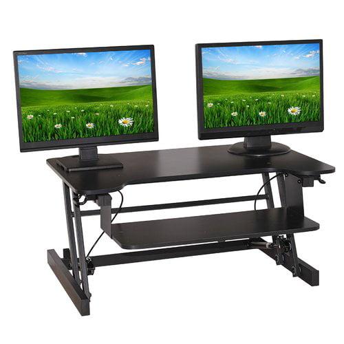 Symple Stuff Easy Pull Home Office Standing Desk Converter