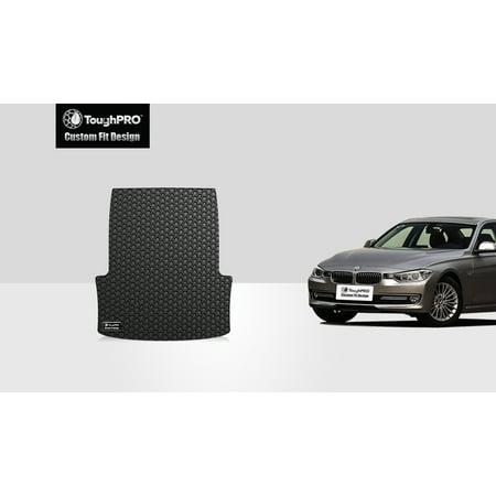 Not Sport Sedan - ToughPRO - BMW ActiveHybrid 5 Trunk Mat - All Weather - Heavy Duty - Black Rubber - 2014 (Not Plug-on Hybrid or Sports Wagon RWD Sedan)