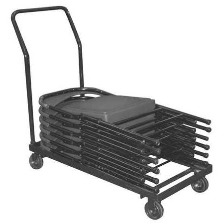 NATIONAL PUBLIC SEATING DY-700/800 Folding Chair Dolly, 36 Capacity