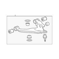 Genuine OE GM Lower Control Arm 22849592