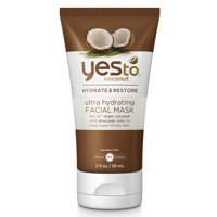 Yes To Coconut Ultra Hydrate & Restore Ultra Hydrating Facial Mask Multi-Use Face Mask 2 fl oz