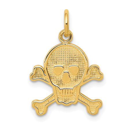 14kt Yellow Gold Skull Bones Pendant Charm Necklace Sea Shore Dagger Dragon Fine Jewelry Ideal Gifts For Women Gift Set From Heart Dragon Bone Chair