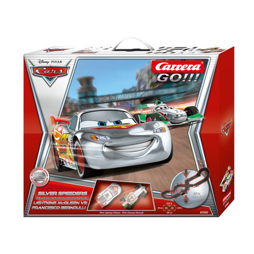 Carrera of America Inc Go!! Disney Cars Speeders Slot Car Playset