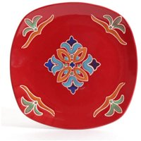 Deals on Better Homes and Gardens Medallion 16-Piece Square Dinnerware Set