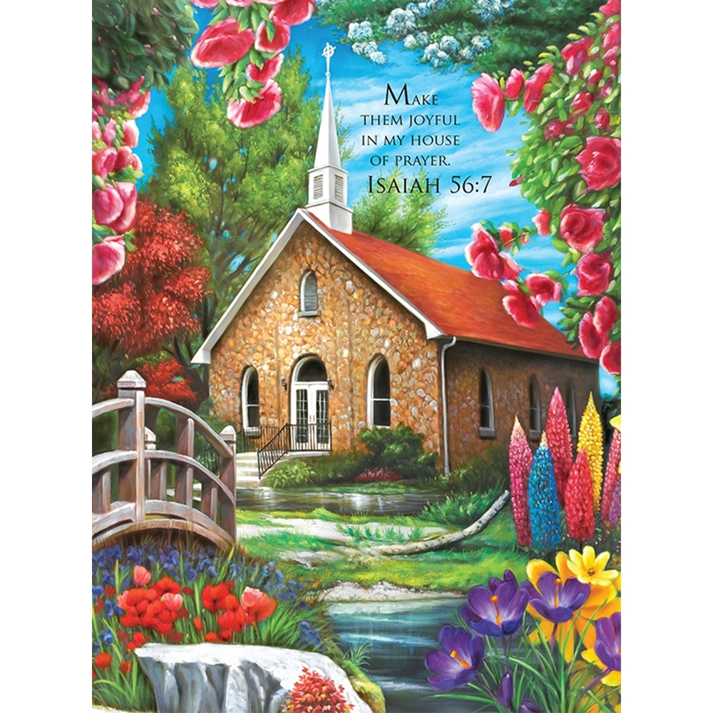 Serenity Church 1000 Piece Puzzle,  Christian by LPF Limited