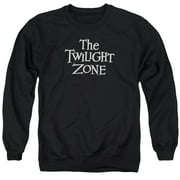 Twilight Zone Logo Mens Crewneck Sweatshirt