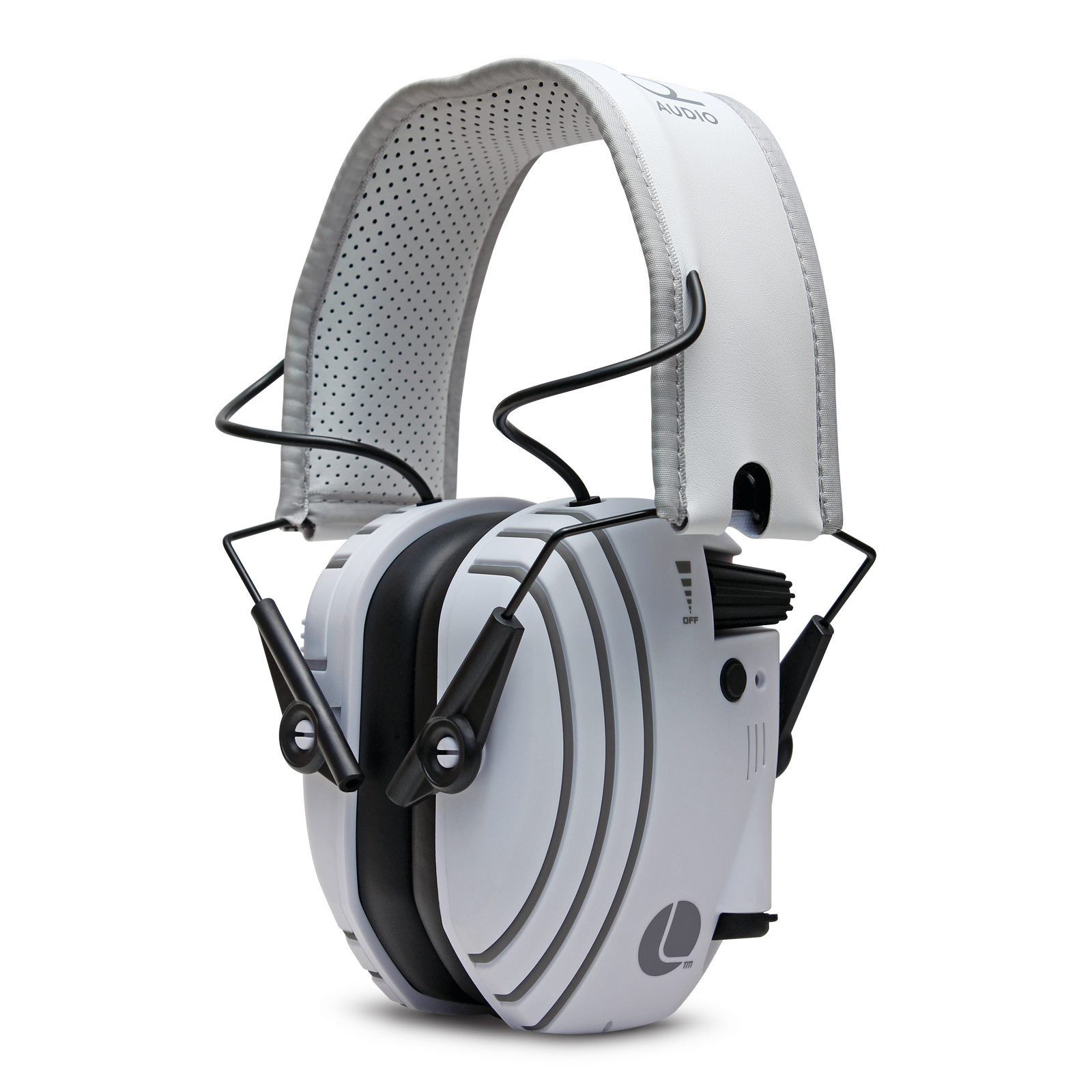 Lucid Audio Bluetooth Hearing Headphones TV - White