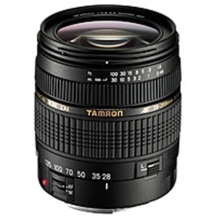 Refurbished Tamron 171D AF03C700 A031 28-200 mm Zoom Lens for Canon EOS DSLR Cameras - f/3.8-5.6 Ccd 3.6 Mm Lens