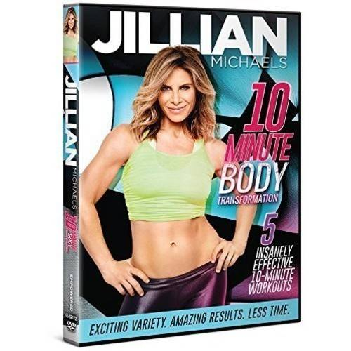 Jillian Michaels 10 Minute Body Transformation DVD