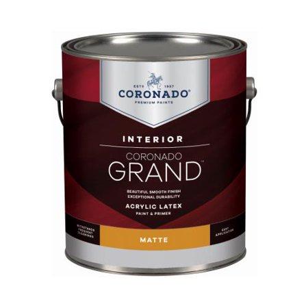 - Benjamin Moore & Co-Coronado 701.1.1 GRD GAL Matte WHT Paint - Quantity 4