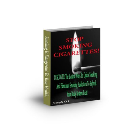 Stop Smoking Cigarettes - eBook