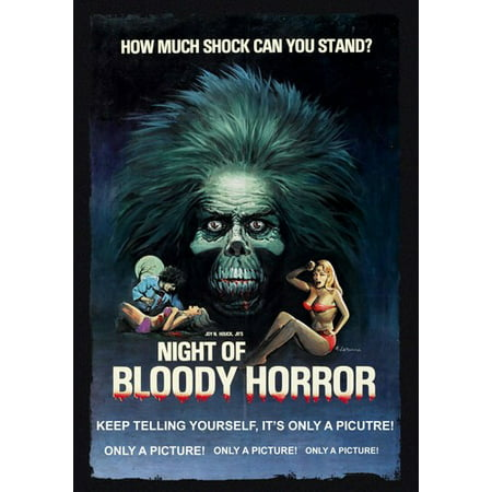 Night of Bloody Horror (DVD) - Luna Park Halloween Horror Night