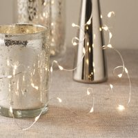 "Mainstays 18"" LED Fairy Wire String Light Set with Battery Operated Timer - Available in Copper and Silver"