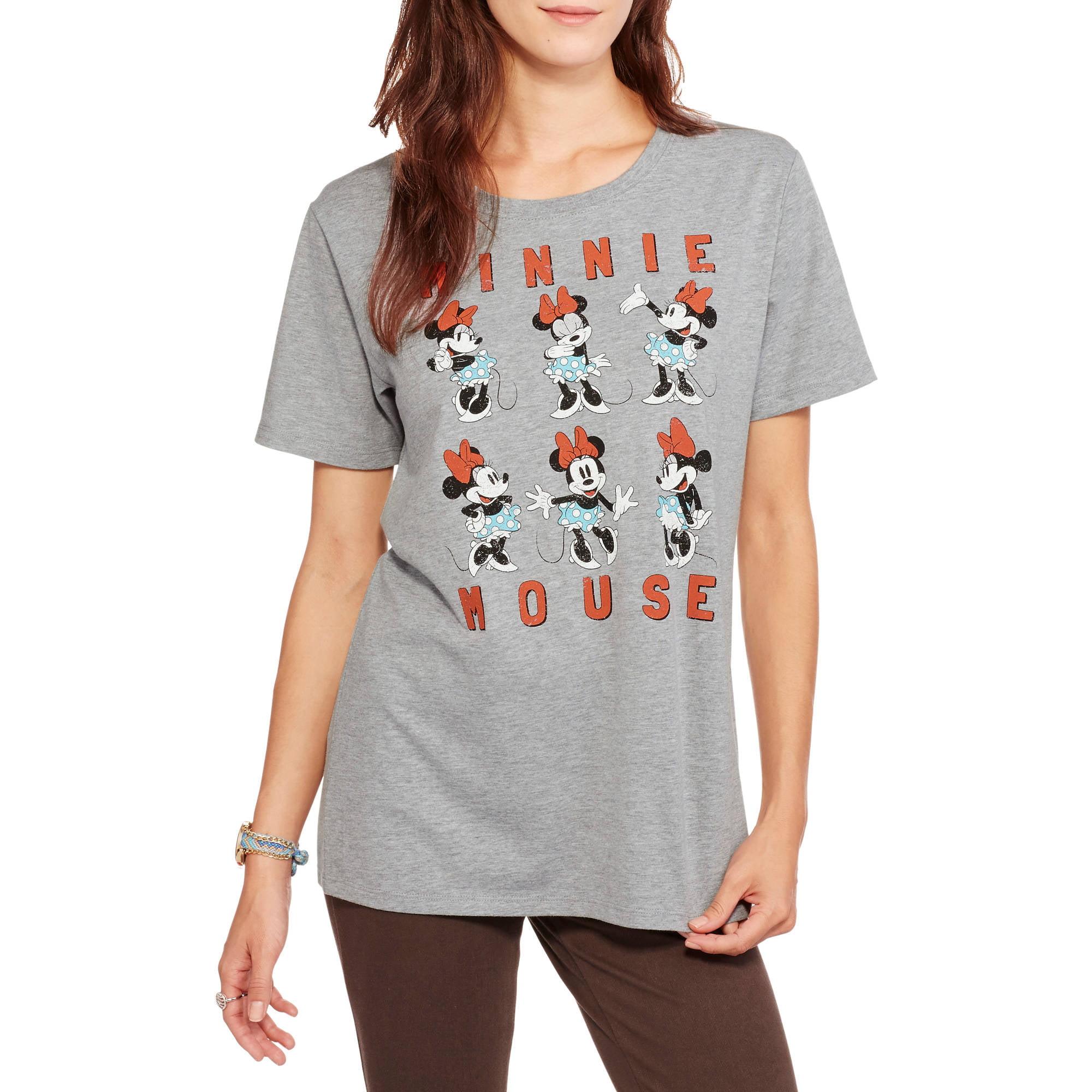 "Disney Juniors' ""Minnie Mouse Moods"" Tee"